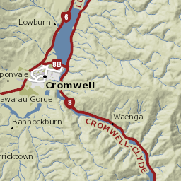 Map Of Cromwell New Zealand.Recently Sold Cromwell Properties And Suburb Profile Qv Co Nz
